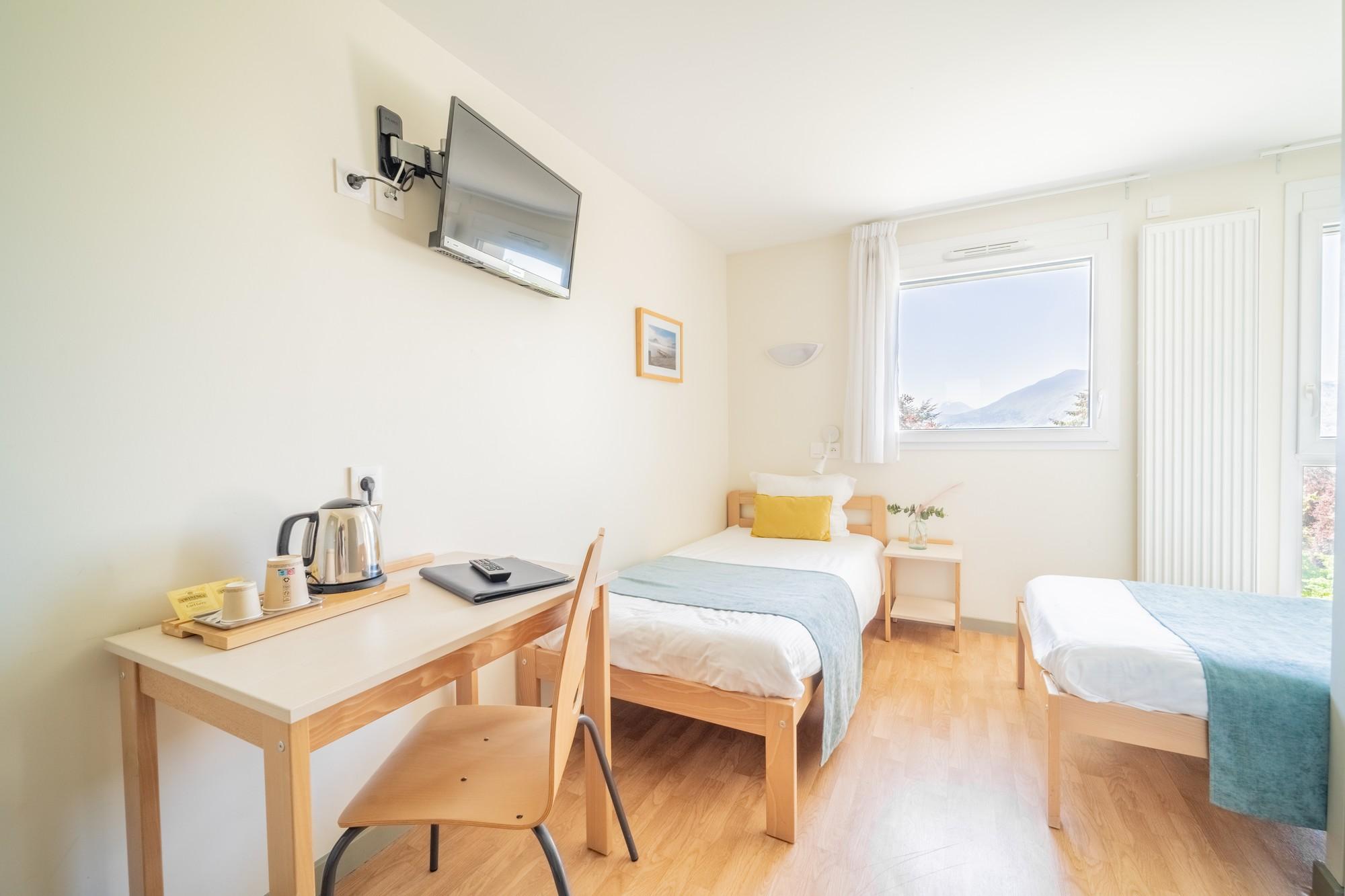 chambre double centre jean xxiii salles de r union et chambres annecy haute savoie. Black Bedroom Furniture Sets. Home Design Ideas